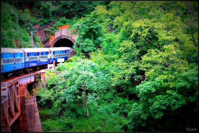Araku Valley Train Journey